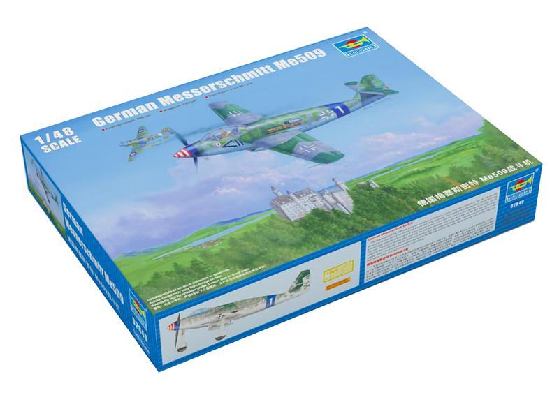 Немецкий самолет Мессершмитт Ме509 Trumpeter 02849