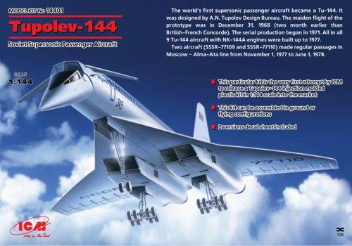 Туполев Ту-144 Советский авиалайнер ICM 14401