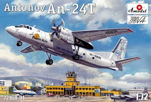 Самолет Антонов Ан-24T Phoenix Avia Amodel 7216001