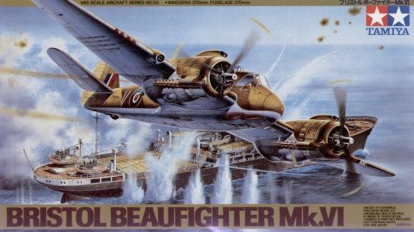 Британский самолет Бристоль Бофайтер Mk.6 ( 24,2 см) Tamiya 61053