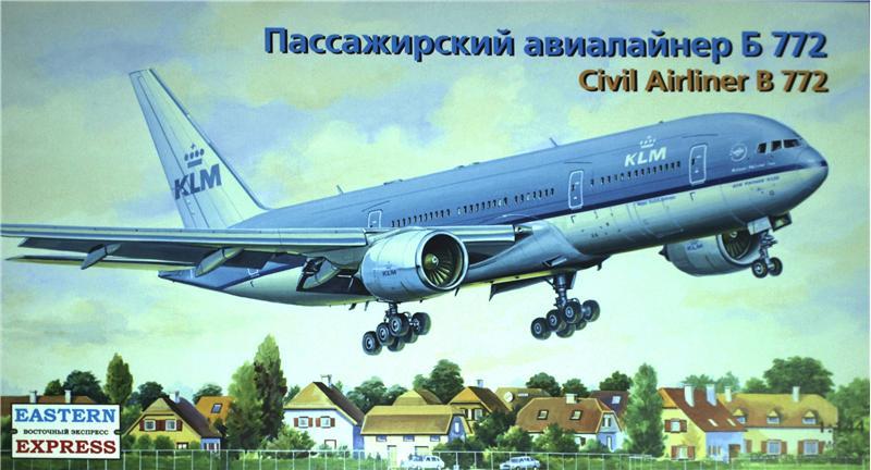 Пассажирский авиалайнер Б772 Eastern Express 14442