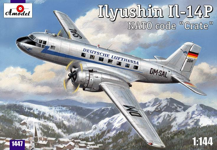 Самолет Ilyushin IL-14P Amodel 1447