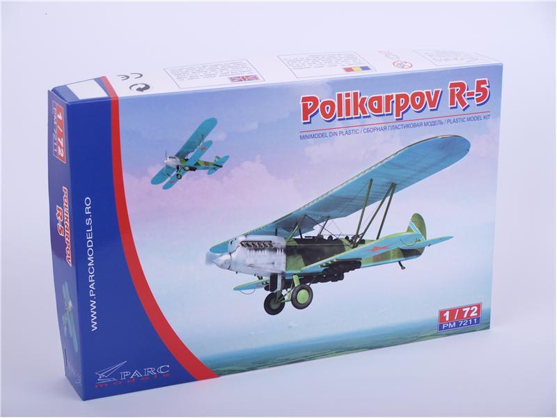 Модель самолета Поликарпов Р-5 Parc Models 7211