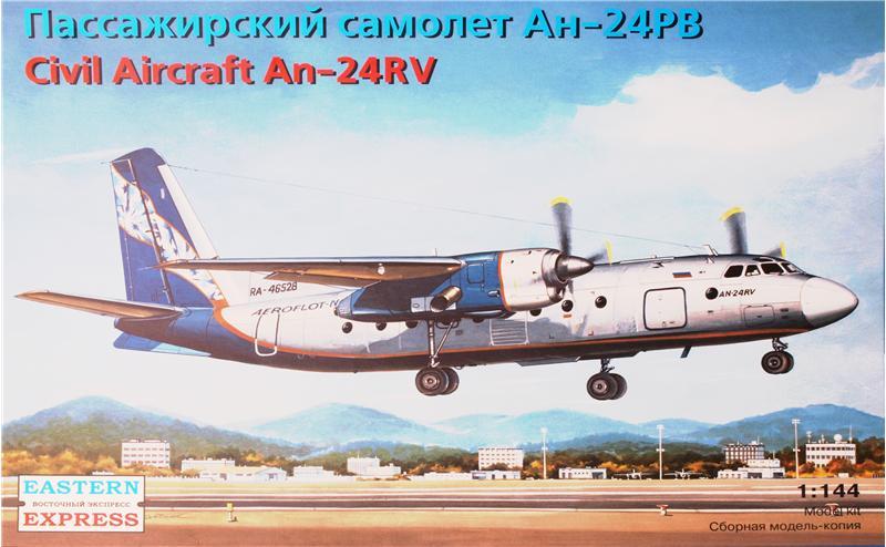 Антонов Ан-24РВ пассажирский самолет Eastern Express 14462