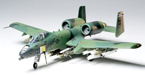 Штурмовик Fairchild Republic A-10A Thunderbolt II Tamiya 61028
