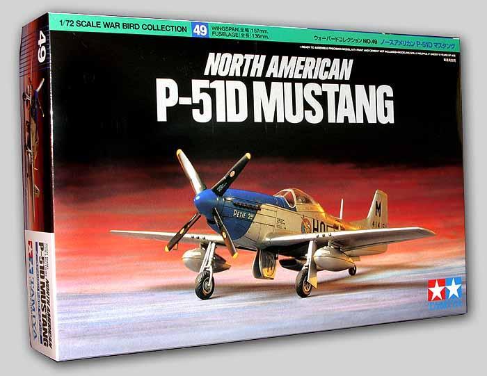 Американский истребитель P-51D Mustang Tamiya 60749