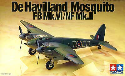 Британский самолет Mosquito FB Mk.VI Tamiya 60747