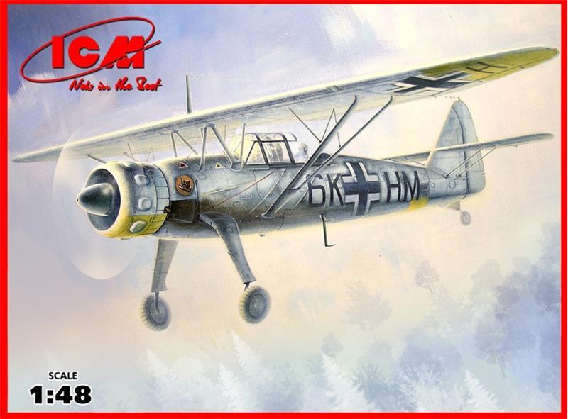 Немецкий самолет-разведчик Hs 126B-1 ICM 48212