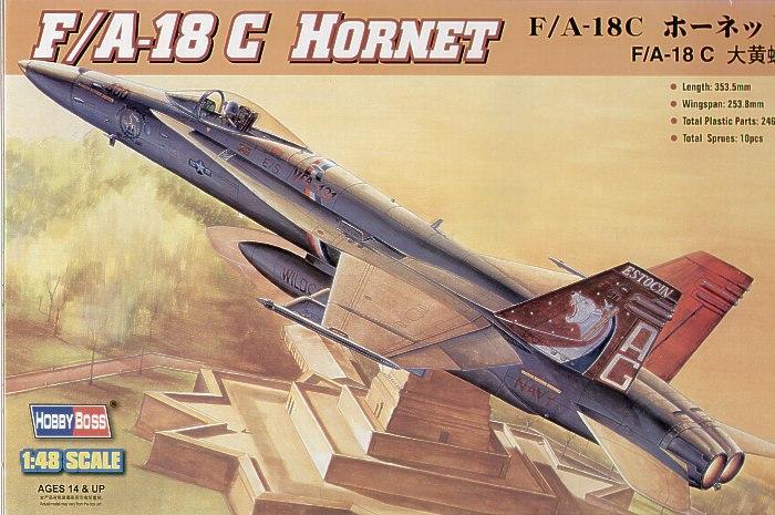 """Истребитель """"Hornet"""" F/A-18C Hobby Boss 80321"""