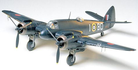 Британский ночной истребитель Bristol Beaufighter Tamiya 61064