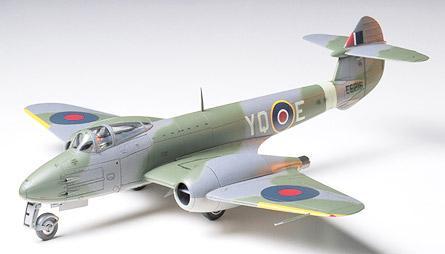 Британский истребитель Gloster Meteor F.1 Tamiya 61051