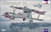 Биплан Nieuport 11
