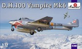 Истребитель D.H.100 Vampire Mk6 RAF
