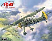 Немецкий самолет-разведчик Hs 126A-1