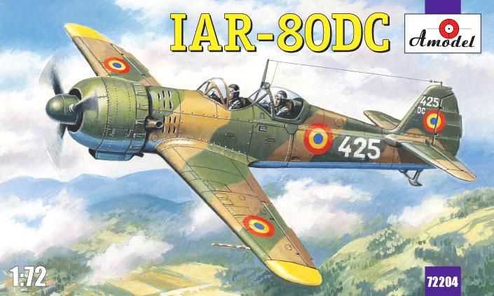 Тренировочный самолет IAR-80DC Amodel 72204
