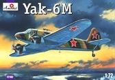 Советский легкий самолет Як-6M