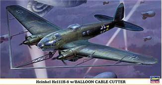 Бомбардировщик He111H-8 Hasegawa 00929