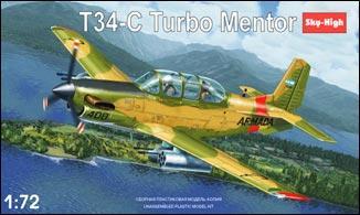 SH7225 T-34C Turbomentor Argentinian AF Sky High 7225