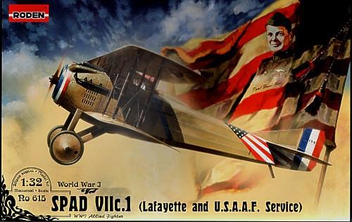Истребитель SPAD VII c.1 Roden 615