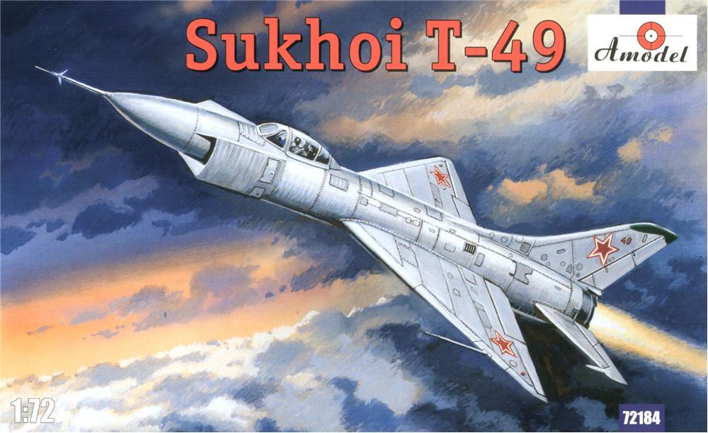Советский истребитель Сухой T-49 Amodel 72184