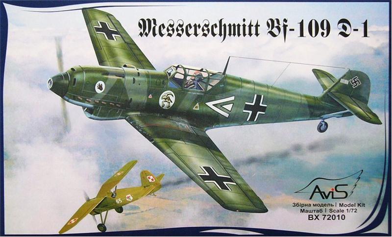 Самолет Мессершмитт Bf.109D-1 (Messerschmitt) Avis 72010