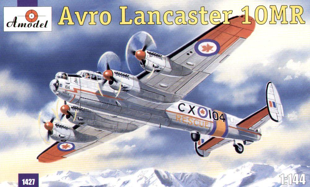 Морской самолет-разведчик Avro Lancaster 10MR Amodel 1427