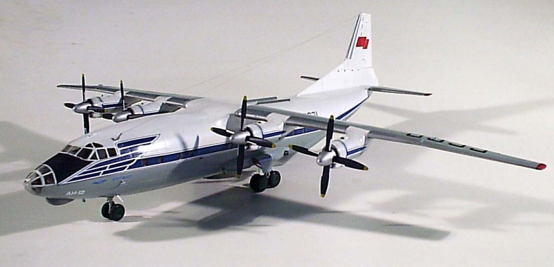 Пассажирский самолет Антонов Ан-12БК
