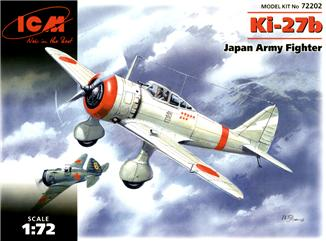 Японский истребитель Ki-27b ICM 72202