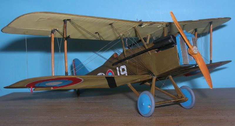 Британский истребитель RAF S.E.5a w/Wolseley Viper Roden 416