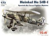 Истребитель-биплан Хейнкель Не-51 В-1