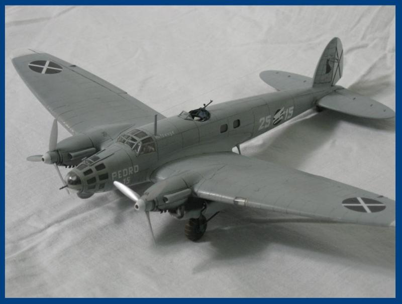 Немецкий средний бомбардировщик Heinkel He-111B Roden 005