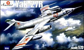 Самолет Яковлев Як-27Р Amodel 72111