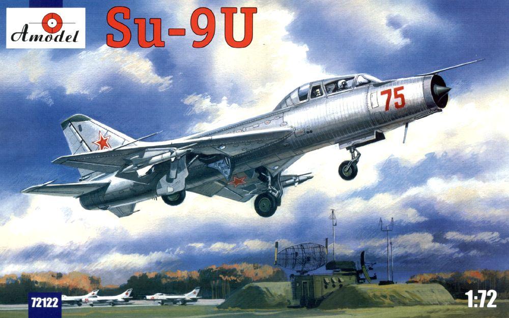 Учебный самолет Сухой Су-9У Amodel 72122