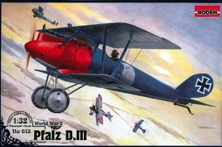 Немецкий истребитель Pfalz D.III Roden 613