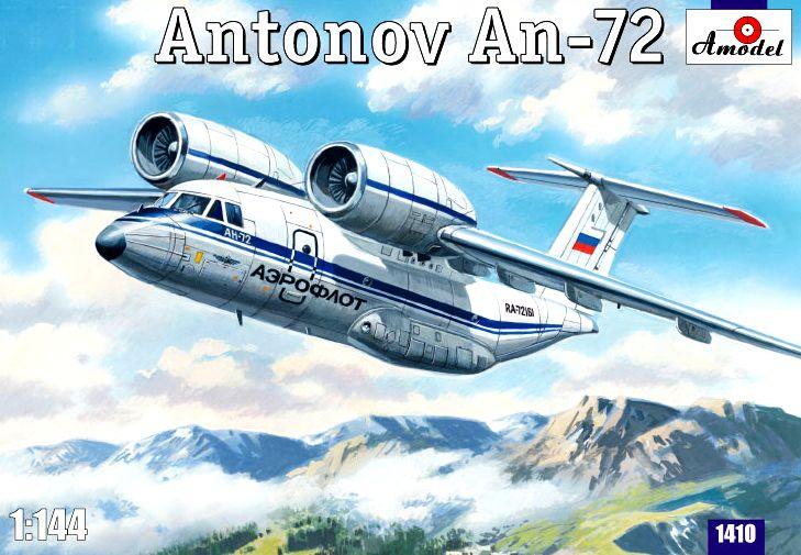 Многоцелевой транспортный самолет Ан-72 Amodel 1410