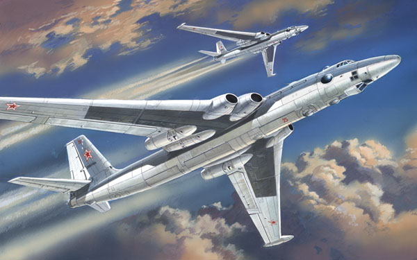 Стратегический бомбардировщик Myasishchev 3M Bison Amodel 72008