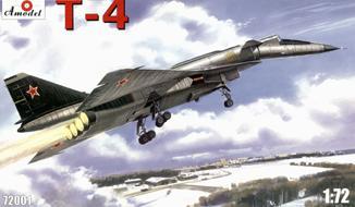 Ударно-разведывательный бомбардировщик-ракетоносец Т-4