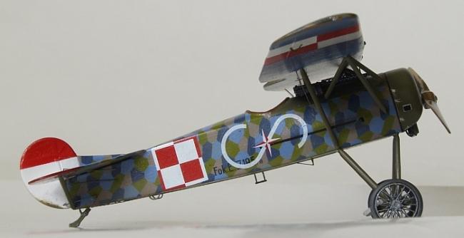 Истребитель Fokker E.V/D.VIII Roden 004