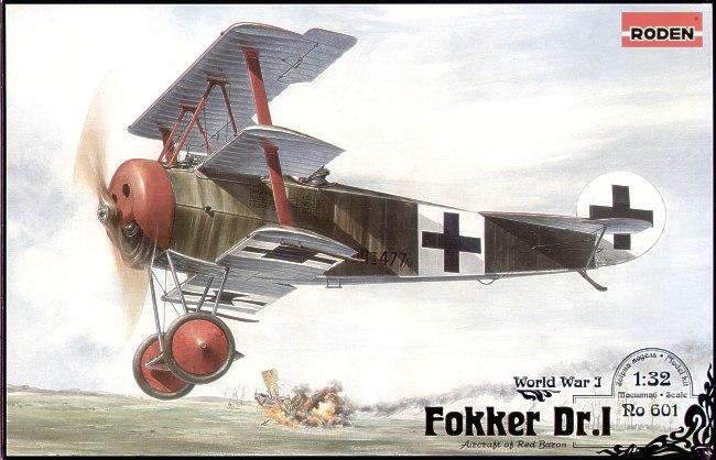 Истребитель Fokker Dr.I Roden 601