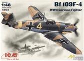 Немецкий истребитель Messerchmitt Bf-109 F4