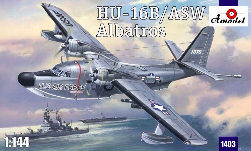 Самолет авиационно-спасательных подразделений Grumman HU-16B/ASW Albatros Amodel 1403