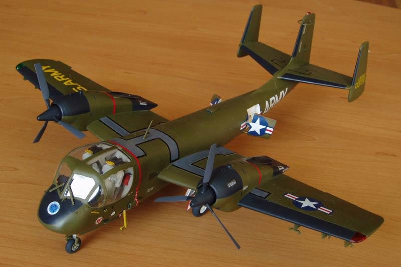 Штурмовик OV-1A/JOV-1A Mohawk Roden 406