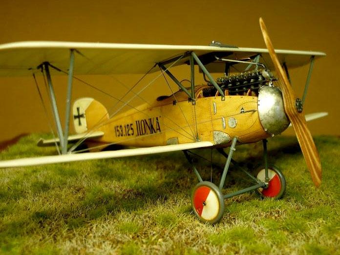 Истребитель Albatros D.III Oeffag s.153 (поздний выпуск) Roden 030