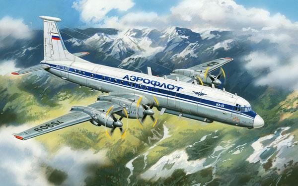 Самолет Ильюшин Ил-22М Amodel 72022