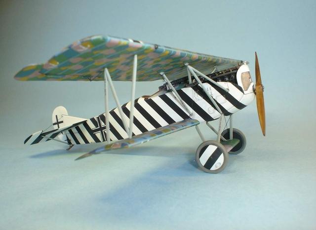 Германский истребитель-биплан Fokker D.VII OAW Roden 418