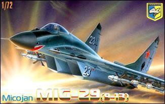МиГ-29 (9-13) советский истребитель прототип ( 24 см ) Condor 7202