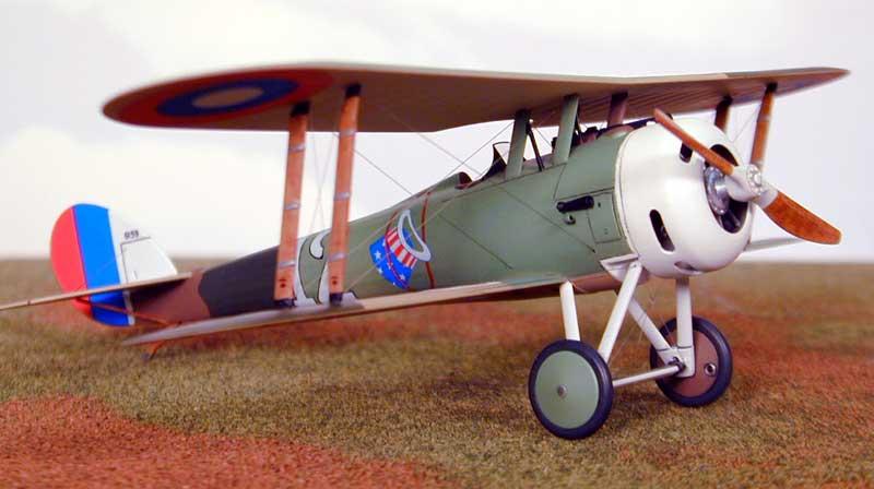 Истребитель-биплан Nieuport 28c1 Roden 403