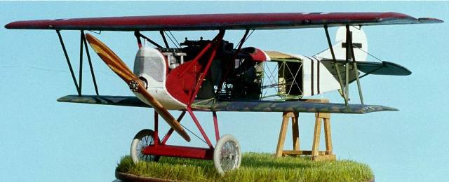 Биплан Fokker D.VII Roden 415