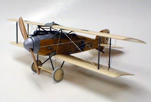 Истребитель Albatros D.II Oeffag s.53 Roden 018
