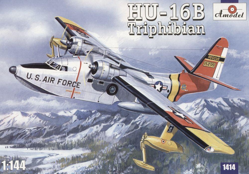 Самолет амфибия ВМС США HU-16B Triphibian Amodel 1414